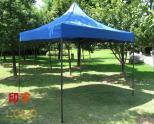 3*3米黑金钢广告折叠帐篷汽车遮阳棚防紫外线代印LOGO印字活动房