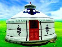 农家乐餐饮篷房户外蒙古包正品豪华实木抗大风加厚防雨