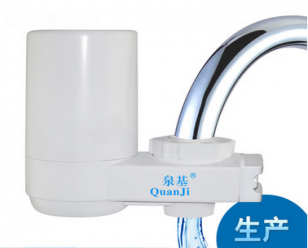 泉基QJ-124家用厨房净水器直饮水机 过滤器 水龙头净水器