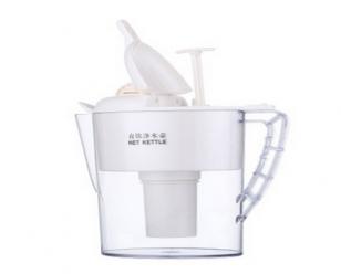 泉基加压式净水壶 家用直饮净水杯 户外过滤水壶 净水壶