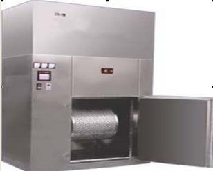 胶塞铝盖清洗烘干机