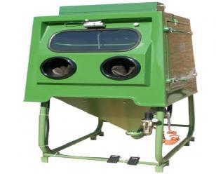 通宝箱体湿式手动液体喷砂机  强化清理机