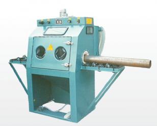 通宝辊道通过式手动喷砂机  输送式喷砂机