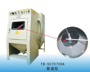 通宝滚筒式自动喷砂机  强化清理机