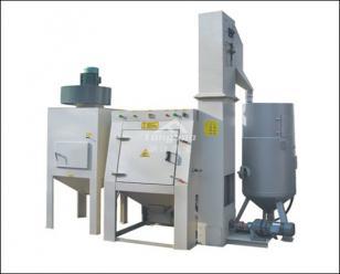 通宝滚筒加压式自动喷砂机