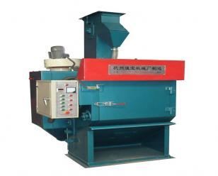 通宝机械回砂型履带式自动喷砂机   输送式喷砂机