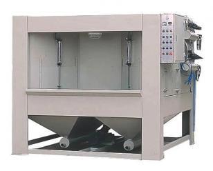 通宝单工位转盘式自动喷砂机