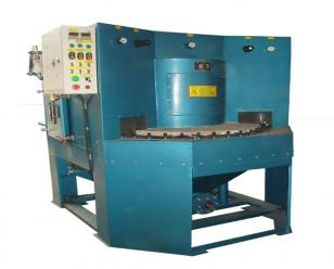 通宝多工位转盘式自动喷砂机