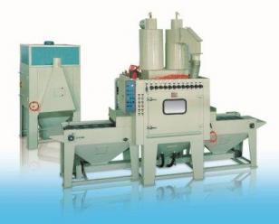 通宝硅晶片专用自动喷砂机  输送式喷砂机