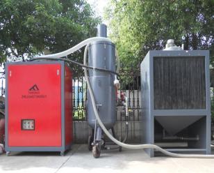 通宝移动式电控管内壁喷砂机   环保喷砂机