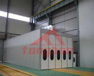 通宝全自动风力回收喷砂房