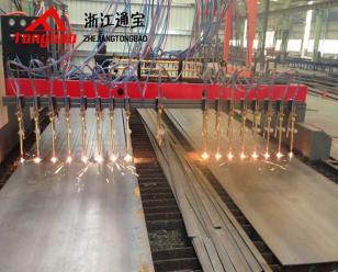 通宝数控火焰切割机  金属板材切割机